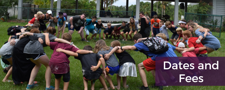 Dates and Fees - Camp Weed - Residential Summer Camp in Live Oak, FL